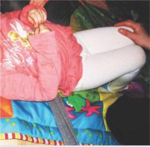 Ćwiczenie w pozycji leżenia na plecach